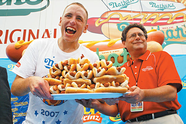 See if Joey Chestnut can become the greatest ever at Nathan's Famous Hot Dog Eating Contest