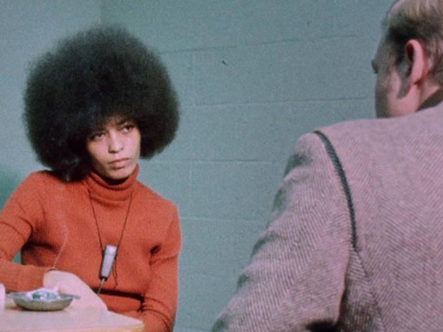 Angela Davis, left, in The Black Power Mixtape 1967--1975