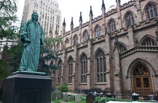 Downtown Where New York Began—Religious Diversity