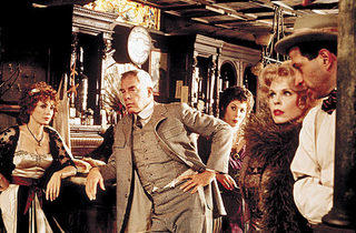 PIPE DREAM Lee Marvin holds court in The Iceman Cometh.