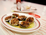 Baked clams at Parm