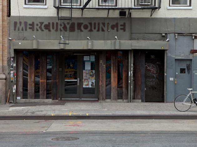 MUSIC VENUE: Mercury Lounge
