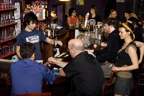 Get sloshed at a dive bar in the East Village (while you still can)