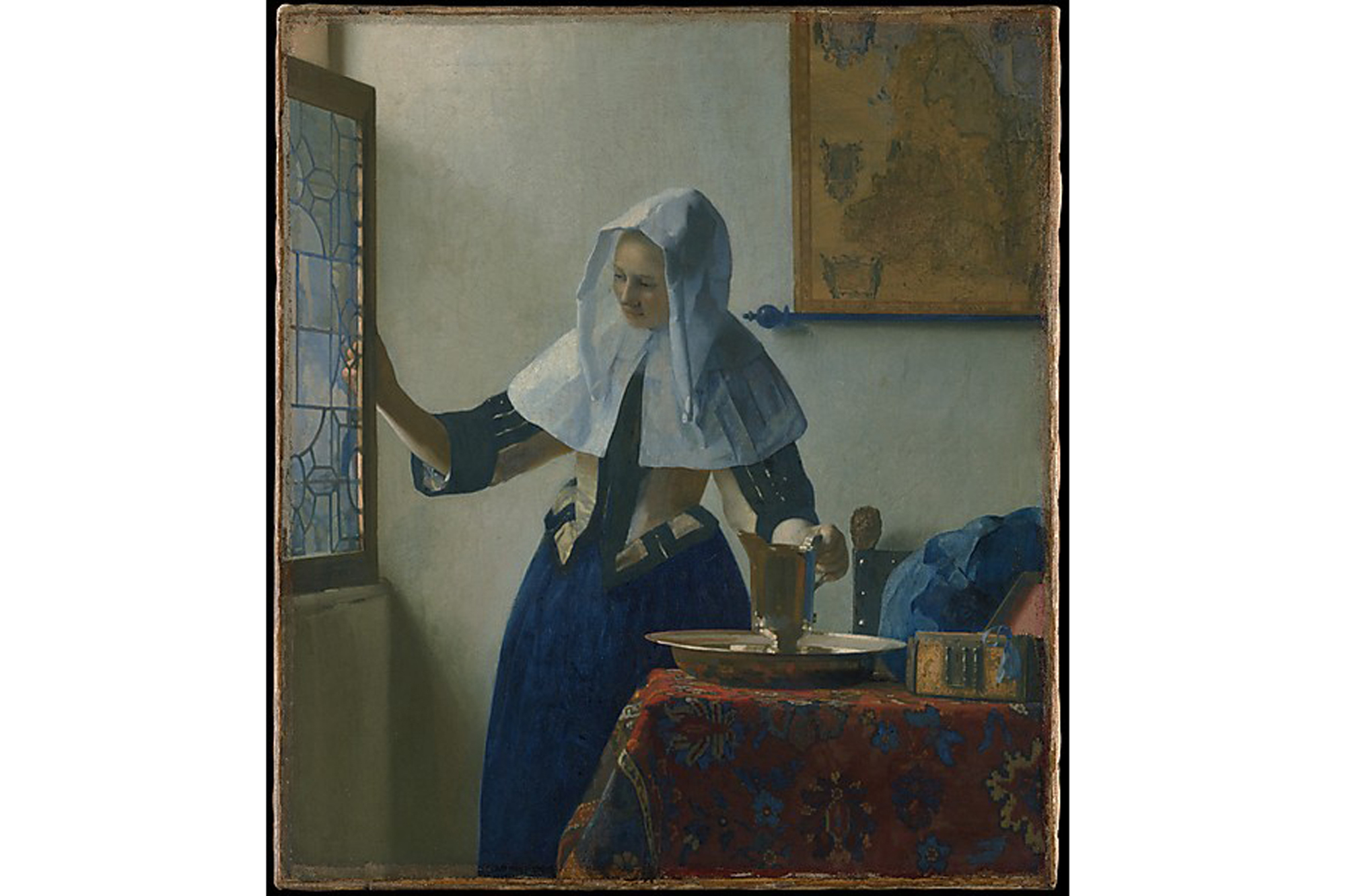 Johannes Vermeer, Young Woman with a Water Pitcher (1662)