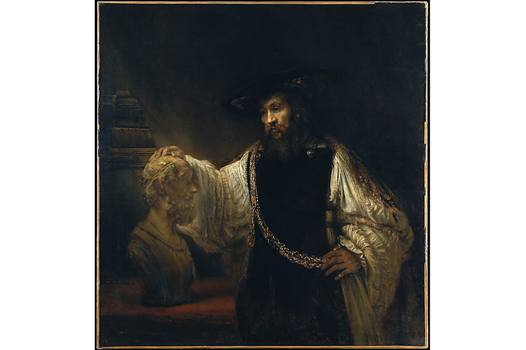 Rembrandt, Aristotle with a Bust of Homer (1653)