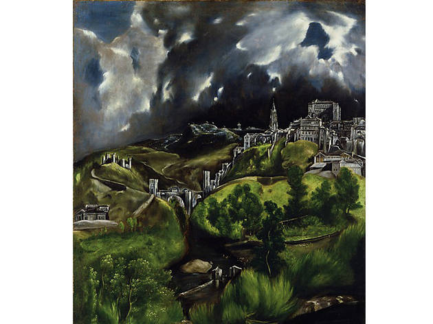 El Greco, View of Toledo (date unknown)
