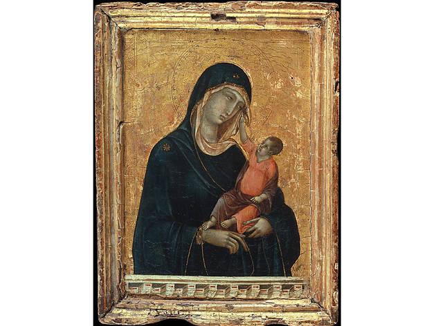 Duccio di Buoninsegna, Madonna and Child (ca. 1300)