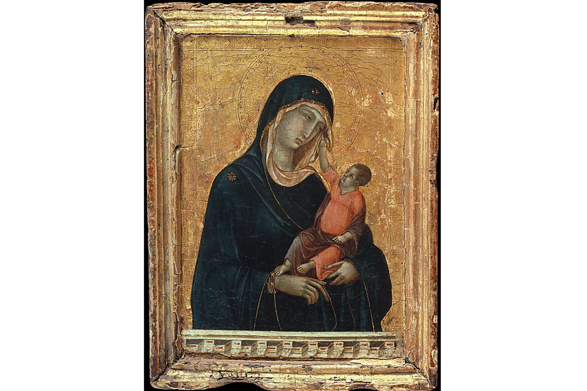 Duccio di Buoninsegna, Madonna and Child (ca. 1300)