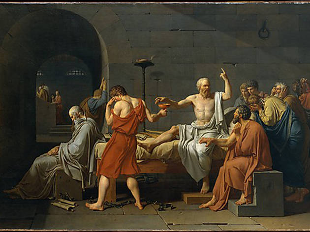 Jacques-Louis David, The Death of Socrates (1787)