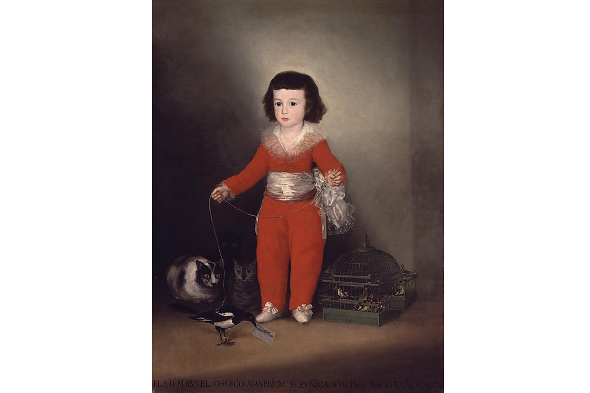 Goya, Manuel Osorio Manrique de Zuiga (date unknown)