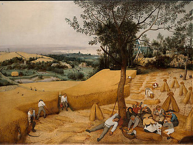 Pieter Bruegel the Elder, The Harvesters (1565)