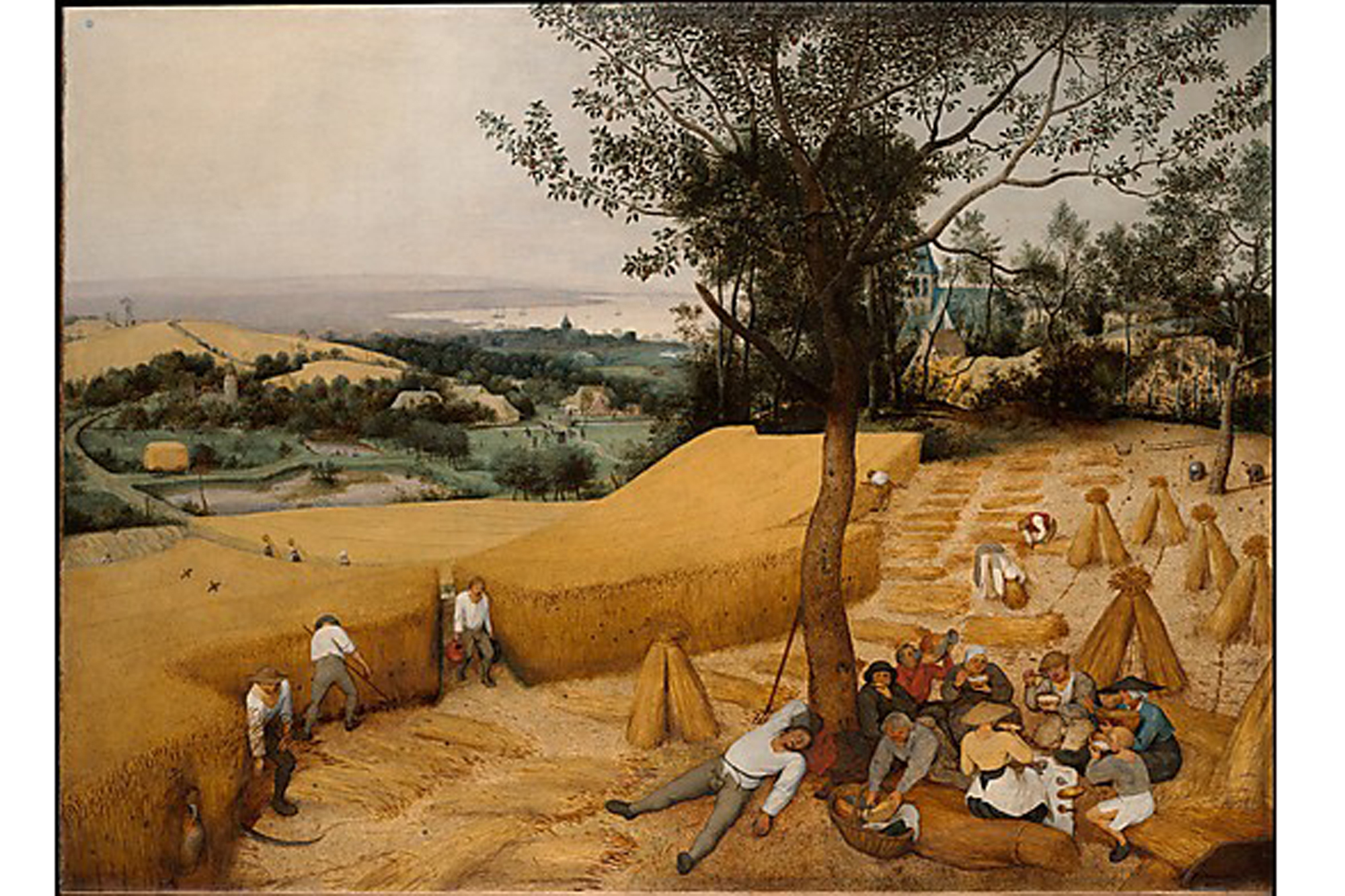 Pieter Bruegel the Elder, The Harvesters (1565)