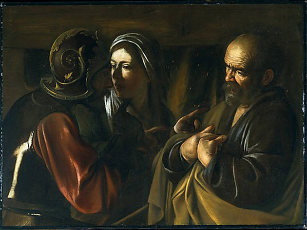 Caravaggio, The Denial of Saint Peter (date unknown)
