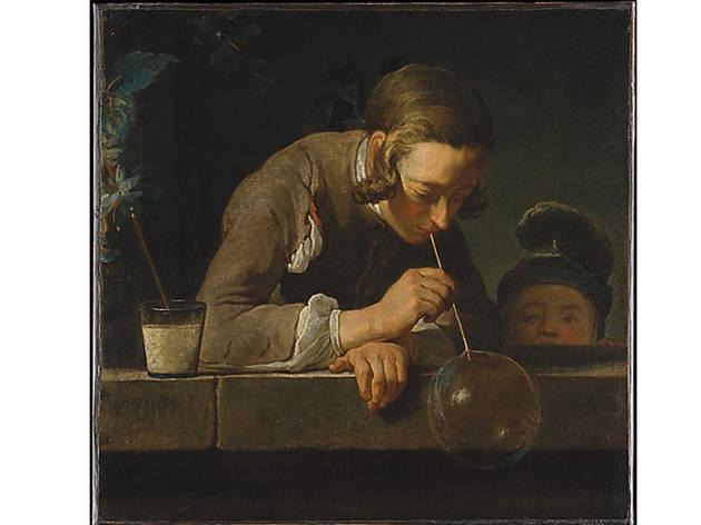 Jean-Baptiste-Simon Chardin, Soap Bubbles (c. 1733-34)