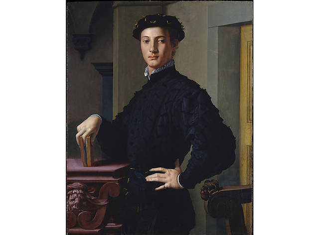 Bronzino, Portrait of a Young Man (c.1530)