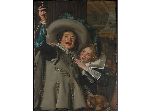 "Frans Hals, Young Man and Woman in an Inn (""Yonker Ramp and His Sweetheart"") (1623)"