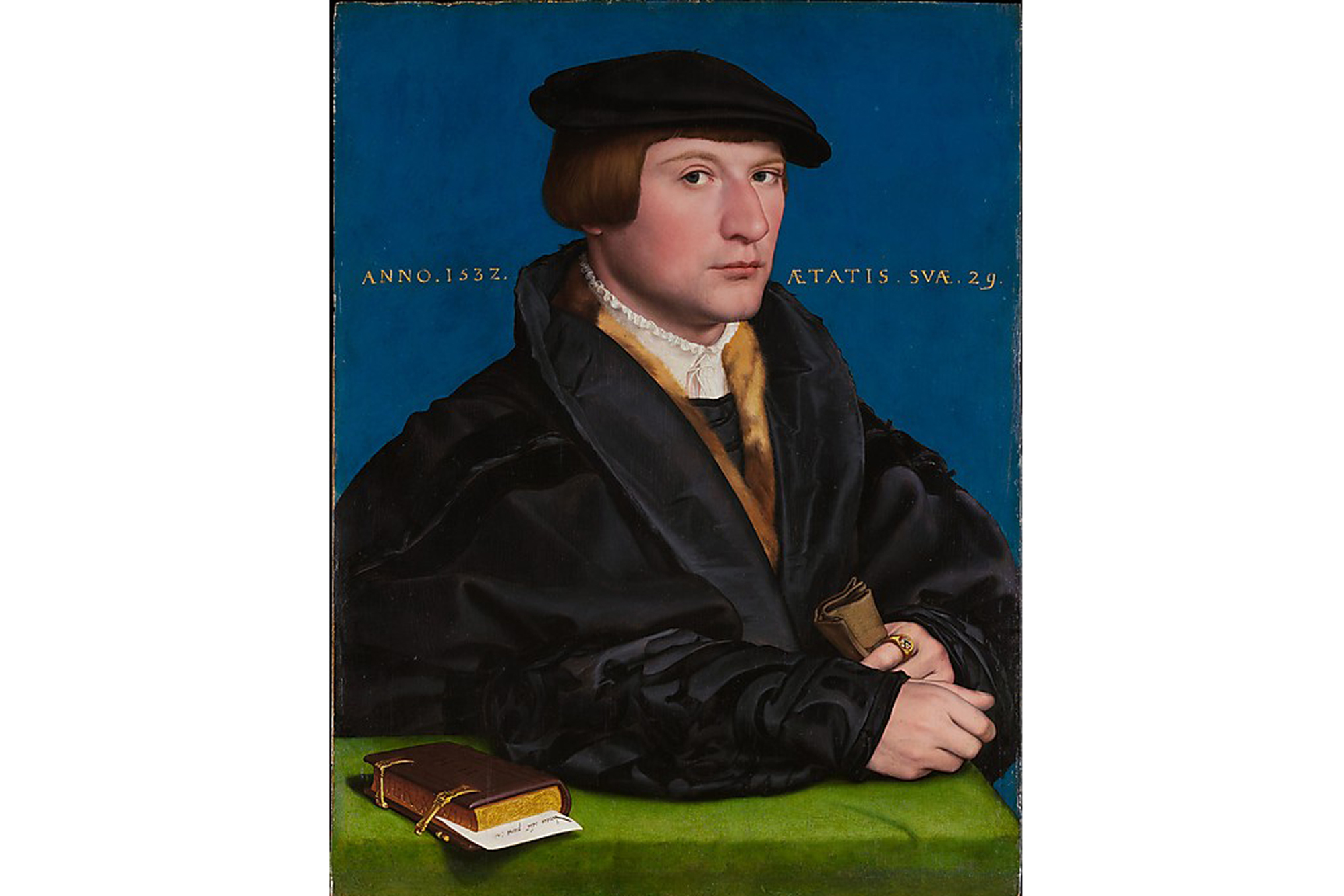 Hans Holbein the Younger, Portrait of a Member of the Wedigh Family (1532)