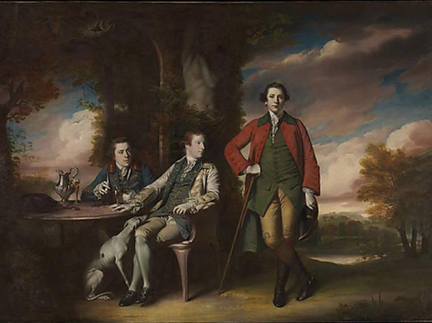 Sir Joshua Reynolds, The Honorable Henry Fane with Inigo Jones and Charles Blair (1761-66)