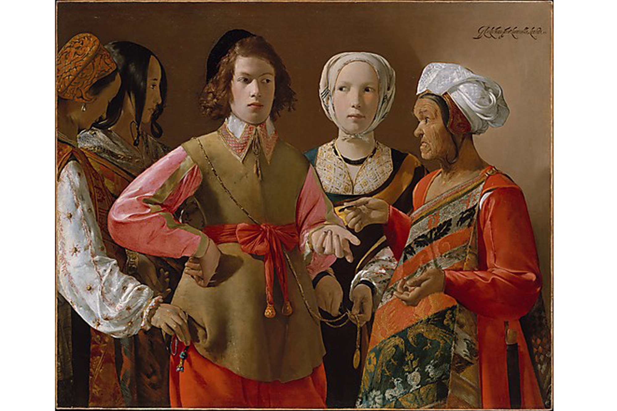 Georges de La Tour, The Fortune Teller (ca. 1630)