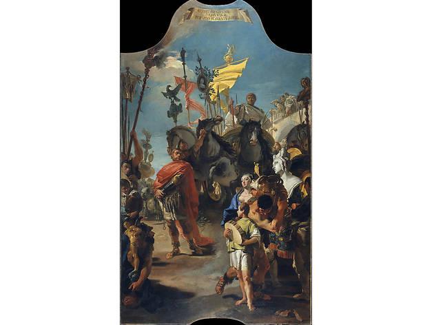 Giovanni Battista Tiepolo, The Triumph of Marius (1729)