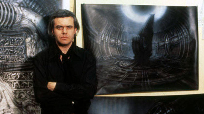 Giger, during Alien's preproduction