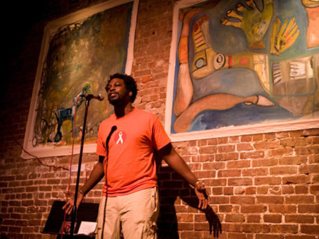 Watch poets battle in slam night at Nuyorican Poets Cafe