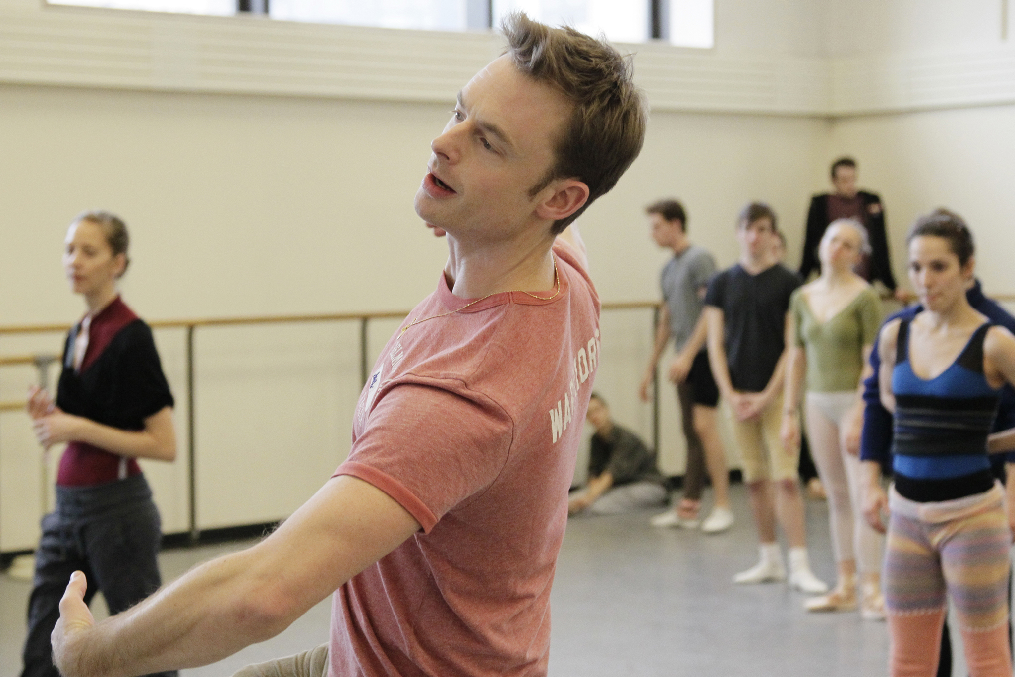 Christopher Wheeldon returns to the New York City Ballet