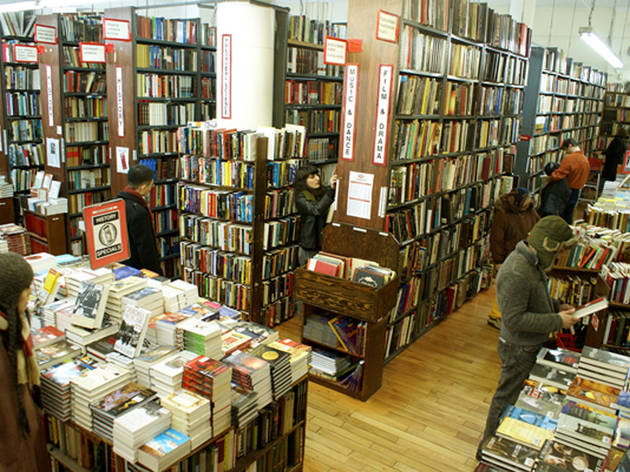 Strand Book Store Shopping In East Village New York