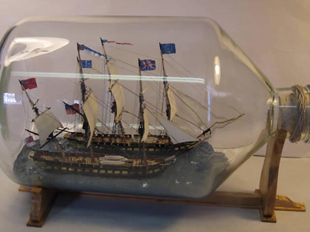 """Ship-Shape: Nautical Scale Models"""