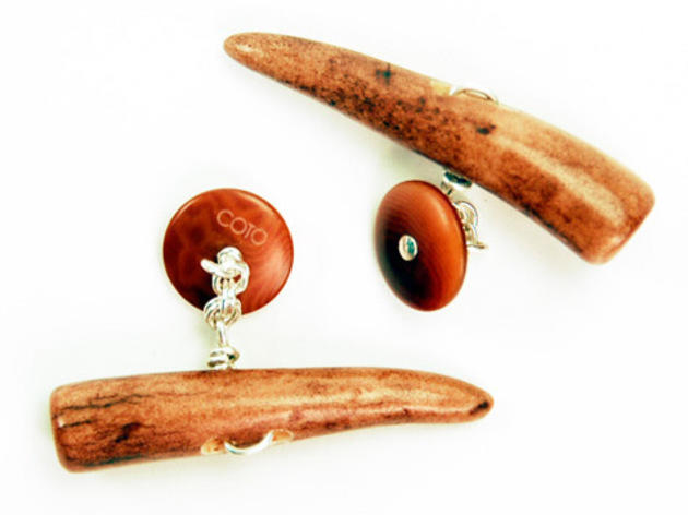 Horny cufflinks, $95, at Epaulet