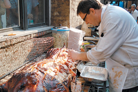 Brooklyn Pig Roast