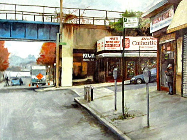 """""""Staten Island, Remember When? Paintings by Fred Sklenar"""""""