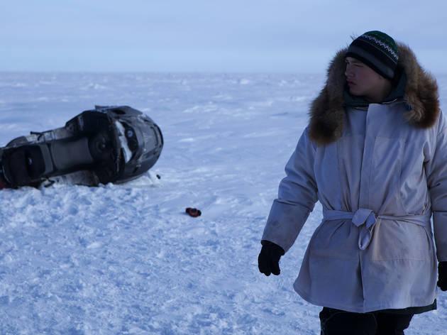 Josiah Patkotak in On the Ice