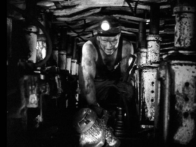 A worker goes underground in The Miners' Hymns