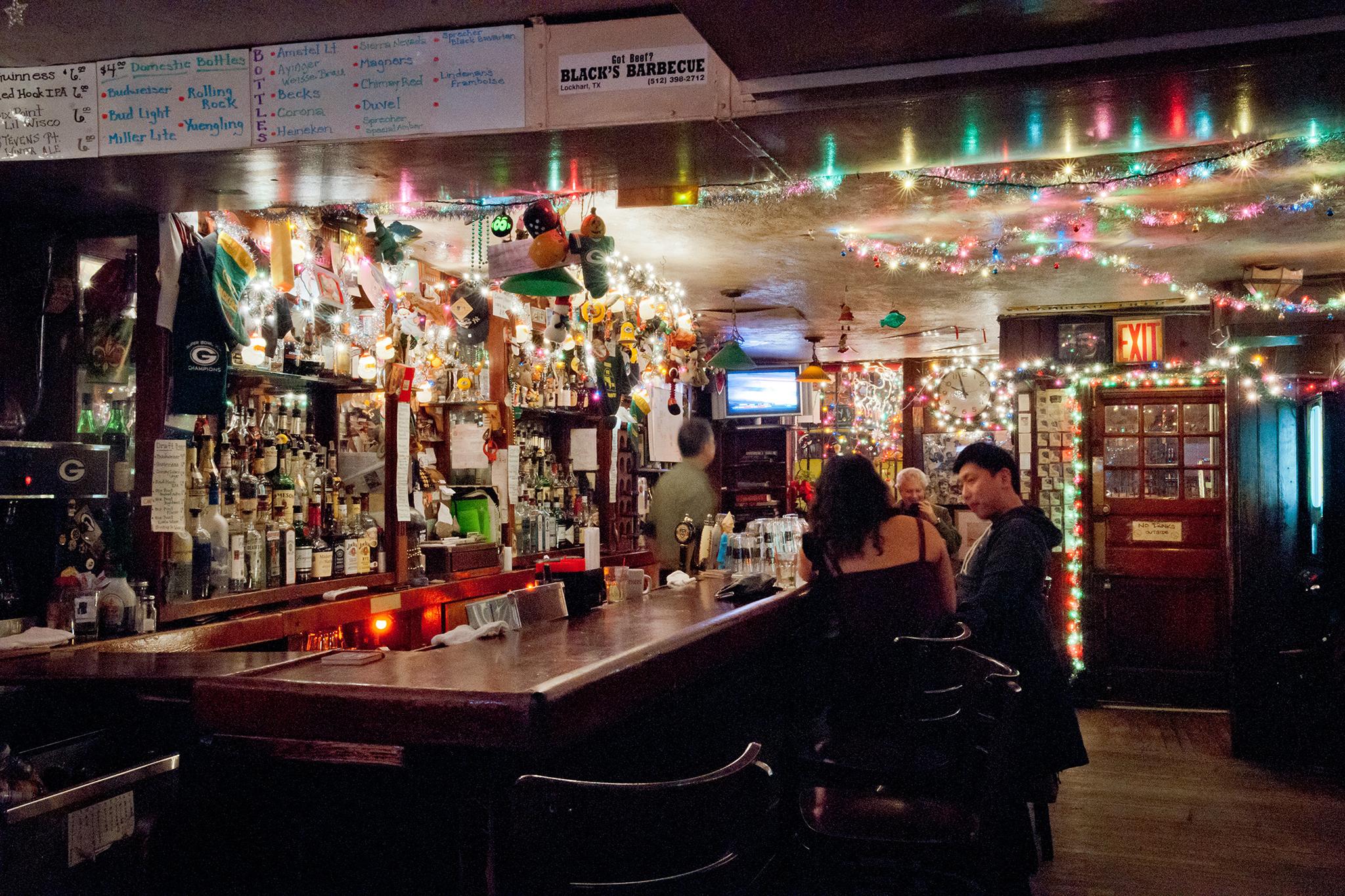 Explore the city's literary bars