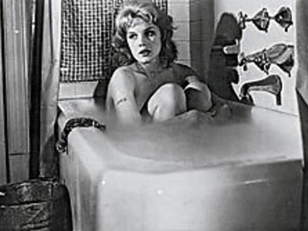 SOAP OPERA Baker soaks it up.