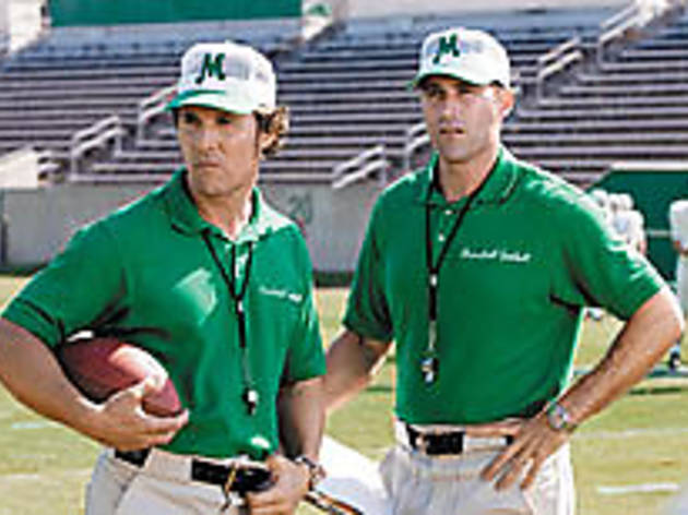 THE LOOK OF MATTHEWS McConaughey, left, and Fox hope to score.
