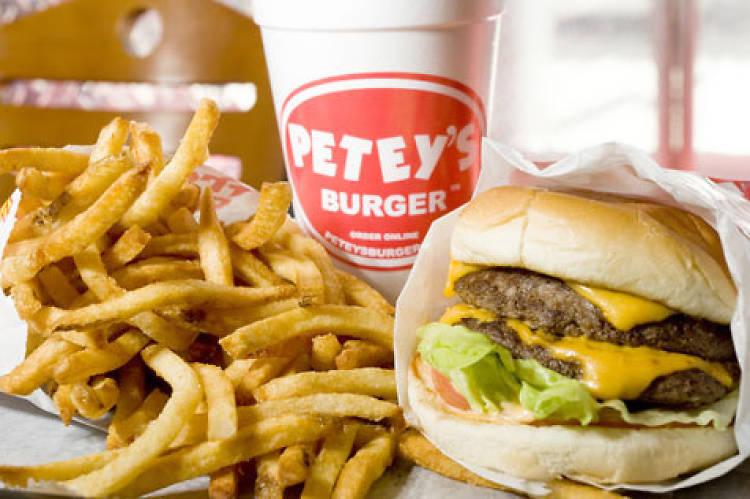 Cheeseburger at Petey's Burger