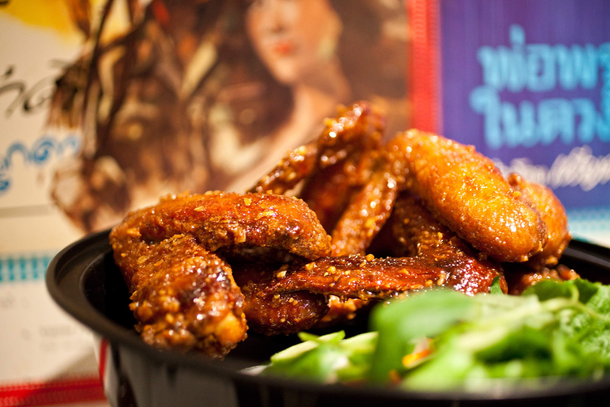 Ike's Wings at Pok Pok Wing