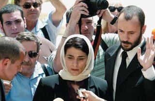 SUPREME COURTED Abbass presses her case.