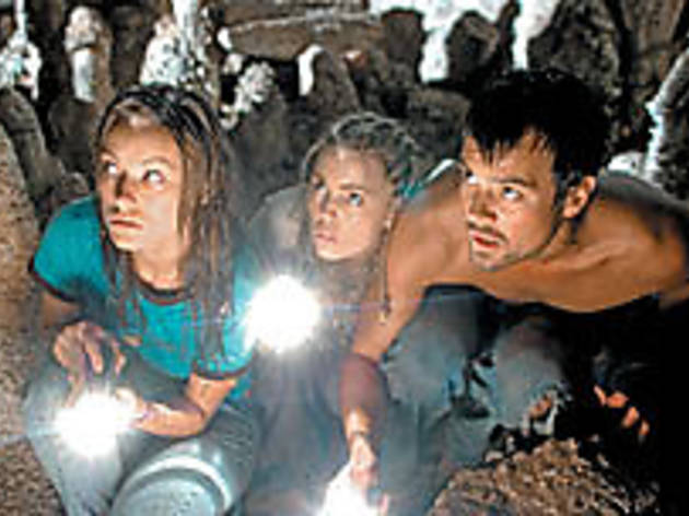 SPELUNKHEADS Wilde, George and Duhamel, from left, should have gone to Disney World.