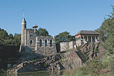 Climb up Belvedere Castle