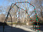 1. Analyze art in Central Park. Pictured: Eva Rothschild, Empire