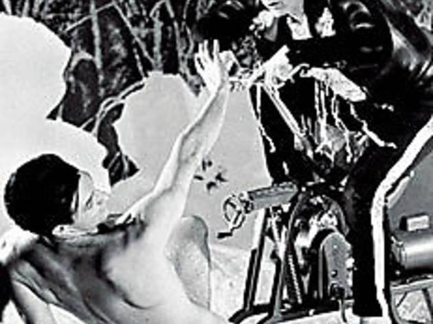 NOW, VOYEUR Warhol appreciates the male figure.