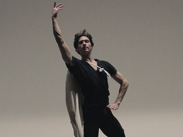 Zach Catazaro rehearsing Romeo + JulietChoreography by Peter MartinsNew York City Ballet  Credit Photo: Paul Kolnikstudio@paulkolnik.comnyc...