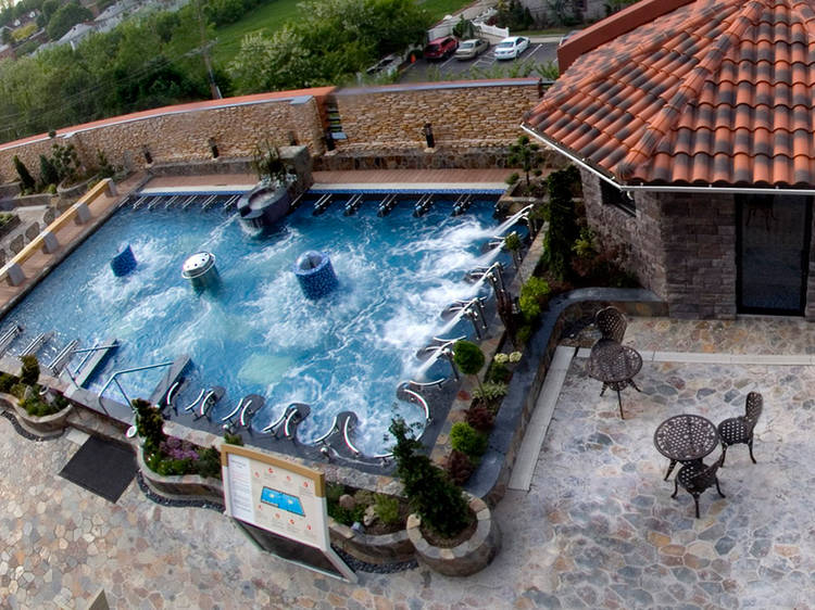 Spend a day at Spa Castle