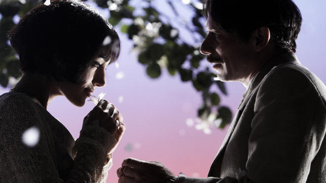 Golshifteh Farahani and Mathieu Amalric in Chicken with Plums