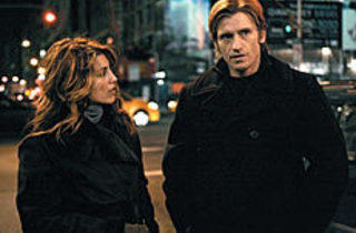 SMOKIN' Tommy Gavin (Leary, right) romances female firefighter Nona (Esposito)...
