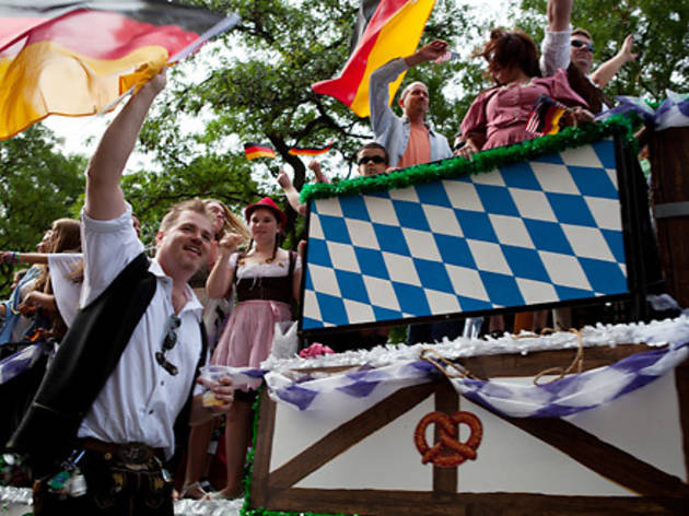 Have an early Oktoberfest at the German-American Steuben Parade
