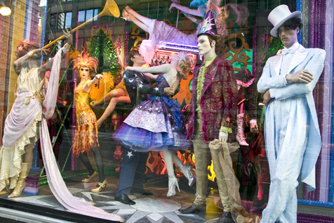 Bloomingdale's holiday windows